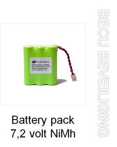 accu battery pack 7 2 volt nimh 1300mah