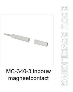 MC-340-3 inbouw magneetcontact